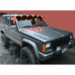 Jeep Grand Cherokee XJ Moonvisor Fiber