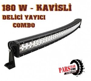 180 W 60 LED KAVİSLİ DELİCİ YAYICI LED BAR (80 CM)