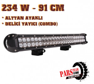 234W 78 LED DELİCİ YAYICI LED BAR (91 CM) ALTTAN AYAK