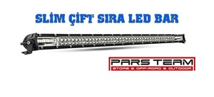 83CM 300W SLİM LED BAR ÇİFT SIRA